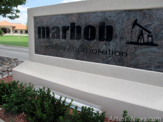 Marbob Energy Sign