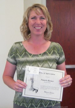 Pam Horner was recently recognized for being a Desk & Derrick member for 20 years.