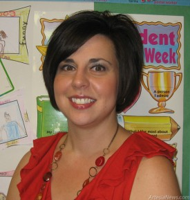 Kimberly Combs Second-Grade Teacher, Roselawn Elementary