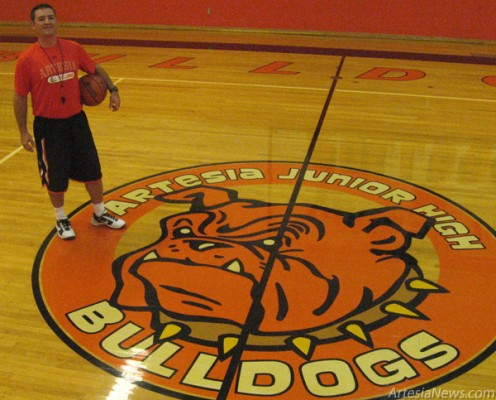 J.D. Champion PE / Basketball Coach, Artesia (Park) Junior High School