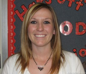 Brandi Polk Second-Grade Teacher, Central Elementary