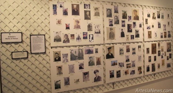 The Artesia Historical Museum's Wall of Honor displays many of the faces of local veterans who served in one or more of the numerous conflicts throughout the country's history. While the museum will be closed Thursday and Friday of this week for Thanksgiving, the collection will continue to be on display through Saturday, Nov. 24.