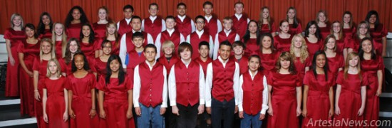 The Artesia Public Schools choirs will gather for a holiday concert at 7 p.m. Thursday at the Artesia High School Auditorium.