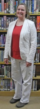 Incoming Library Supervisor  Laura Mischke