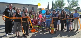 Members of the Artesia Chamber of Commerce, Artesia Trailblazers and new owner of Learning Ladder Lori Sarabia were in attendance Tuesday afternoon for a ribbon cutting to celebrate the grand opening of the childcare education center at 1709 W. Grand Ave. Learning Ladder, previously Lil' Dogs, was purchased by longtime employee Sarabia. Grace Miller - Daily Press