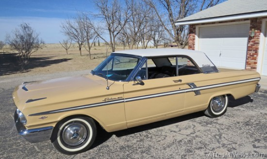 Vehicles such as this 1964 Ford Fairlane 500 Sport Coupe belonging to Frank and Dorothy Hammond of the Artesia Car Enthusiasts will be on display March 28-29 at the event. Grace Miller - Daily Press