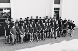 Pictured above are Chase Scholars and Community Service Team Leaders from the Class of 2014. Courtesy Photo