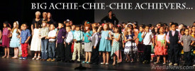 "Students at Grand Heights Early Childhood Center take the next step  in their education Tuesday during Kindergarten Graduation at the Artesia High School Auditorium. Before a crowd of occasionally weeping family and friends, the Eager Beavers received their diplomas and performed some of their favorite songs from the school year, which ranged from ""It's So Great to be a Beaver"" to ""Rudolph the Red-Nosed Reindeer.""  Teresa Lemon - Daily Press"