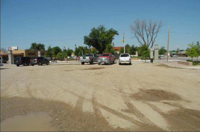 The future site of the City of Artesia's annex to city hall will remain, at least for now, a parking lot. (Danny Scott – Daily Press)