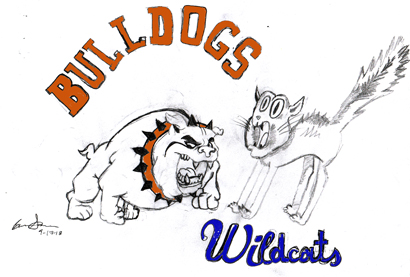 9-18-Bulldogs vs cats
