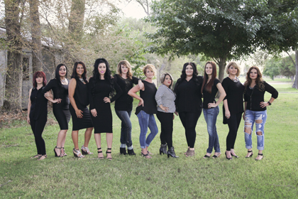 Pictured from left are Johnnie Marquez, Priscilla Quinines, Nicolette Knowlton, Celene Sepulveda, Jordan Ezell, Angie Jarratt, Janett Lopez, Meghan Harris, Haylee Neel, Teri Gilbert and Brenda Jaquez. Not pictured is Stephanie Gomez. (Courtesy Photo)