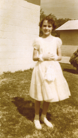 Rosemary Dowell shows off her Easter finery in this 1954 photo from the Artesia Historical Museum. (Photo Courtesy Artesia Historical Museum)