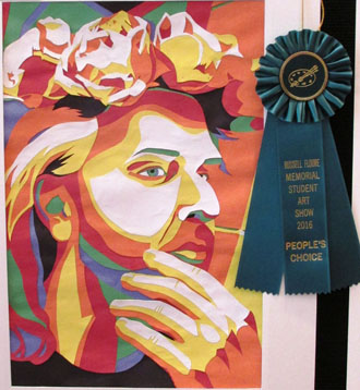 "People's Choice: Jodie Calhoun - ""Jeremy Small,"" mixed media"