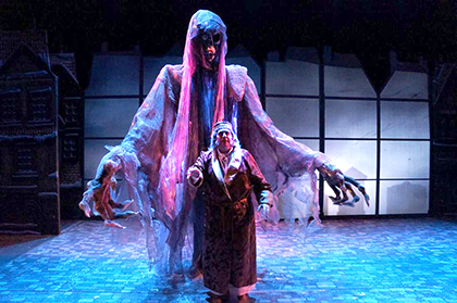 Ghost Of Christmas Yet To Come.A Christmas Carol Perfect Way To Ring In Christmas